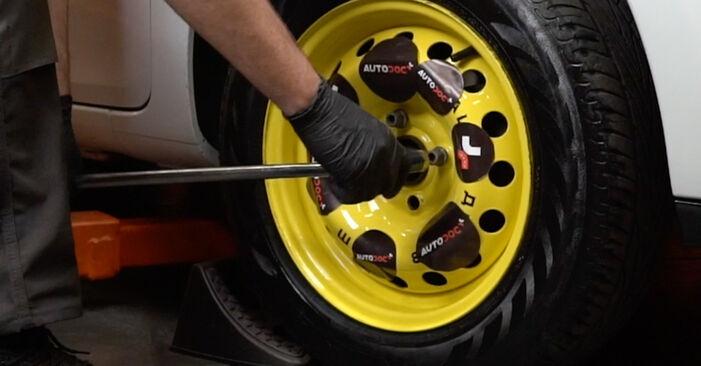 Wie schwer ist es, selbst zu reparieren: Wasserpumpe + Zahnriemensatz Renault Clio 3 1.2 16V 2011 Tausch - Downloaden Sie sich illustrierte Anleitungen