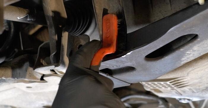 Querlenker am RENAULT Clio III Schrägheck (BR0/1, CR0/1) 1.5 dCi 2010 wechseln – Laden Sie sich PDF-Handbücher und Videoanleitungen herunter