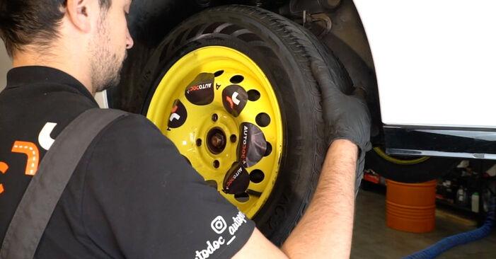 Wie schwer ist es, selbst zu reparieren: Domlager Renault Clio 3 1.2 16V 2011 Tausch - Downloaden Sie sich illustrierte Anleitungen