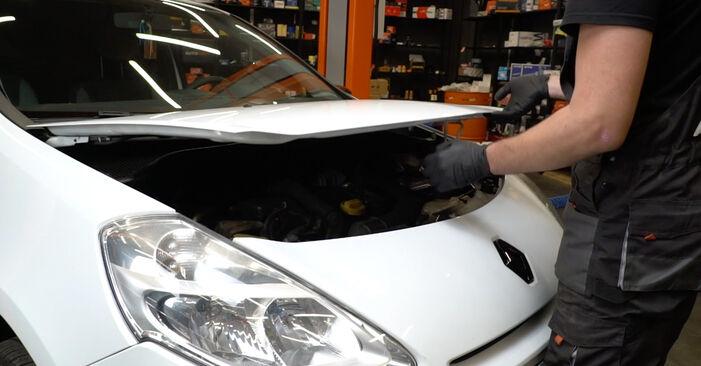 Wie Stoßdämpfer Renault Clio 3 1.5 dCi 2005 tauschen - Kostenlose PDF- und Videoanleitungen