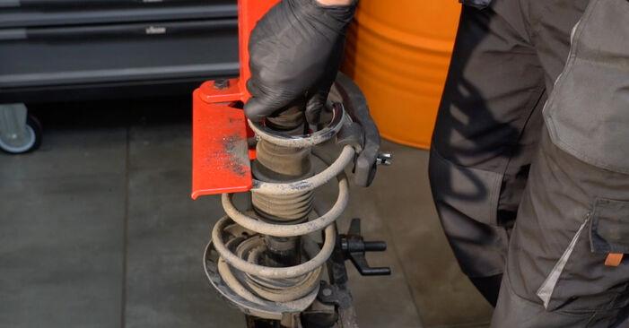 Stoßdämpfer Renault Clio 3 1.4 16V 2007 wechseln: Kostenlose Reparaturhandbücher