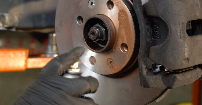 Recomendações passo a passo para a substituição de Renault Clio 3 2008 1.2 16V Hi-Flex Discos de Travão por si mesmo
