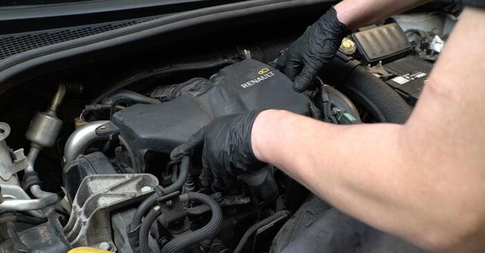 Glühkerzen Renault Clio 3 1.4 16V 2007 wechseln: Kostenlose Reparaturhandbücher