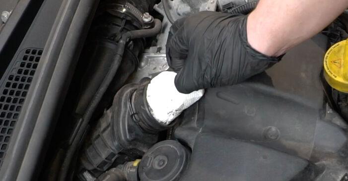 Glühkerzen am RENAULT Clio III Schrägheck (BR0/1, CR0/1) 1.5 dCi 2010 wechseln – Laden Sie sich PDF-Handbücher und Videoanleitungen herunter