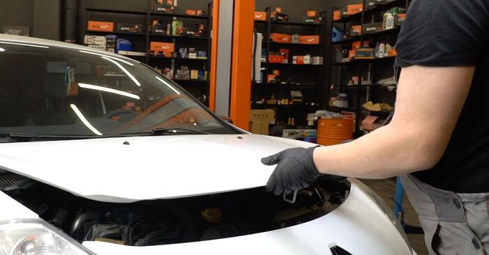 Austauschen Anleitung Glühkerzen am Renault Clio 3 2005 1.5 dCi selbst