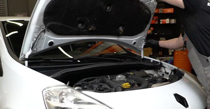 Wie Kraftstofffilter Renault Clio 3 1.5 dCi 2005 tauschen - Kostenlose PDF- und Videoanleitungen