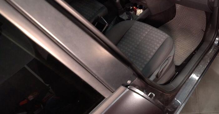 Jak vyměnit Kabinovy filtr na Renault Clio 3 2005 - bezplatné PDF a video návody