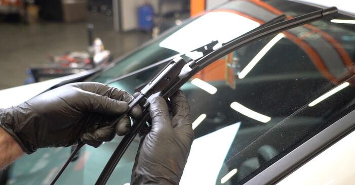 Scheibenwischer Renault Clio 3 1.4 16V 2007 wechseln: Kostenlose Reparaturhandbücher