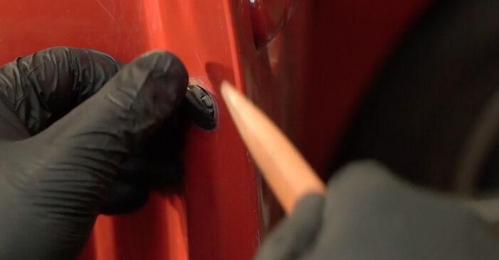 Προτάσεις βήμα προς βήμα για την KANTO ΜΟΝΟΣ ΣΟY αντικατάσταση Seat Ibiza 6l1 2007 1.4 TDI Κλειδαριές εξωτερικά