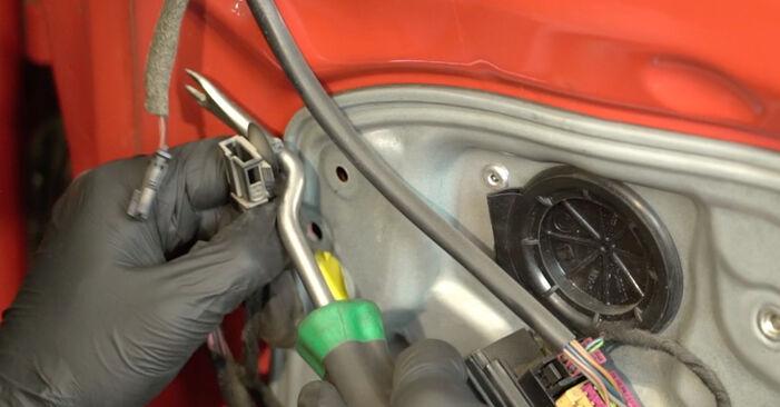 πώς αλλαγη SEAT IBIZA 1.4 TDI 2006 Κλειδαριές εξωτερικά -online ευκολονόητες οδηγίες