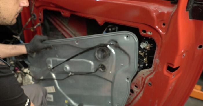 Seat Ibiza 6l1 1.4 16V 2004 Κλειδαριές εξωτερικά αντικατάσταση: δωρεάν εγχειρίδια συνεργείου