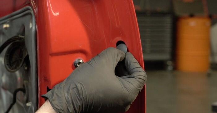 Πόσο διαρκεί η αντικατάσταση: Κλειδαριές εξωτερικά στο Seat Ibiza 6l1 2002 - ενημερωτικό εγχειρίδιο PDF
