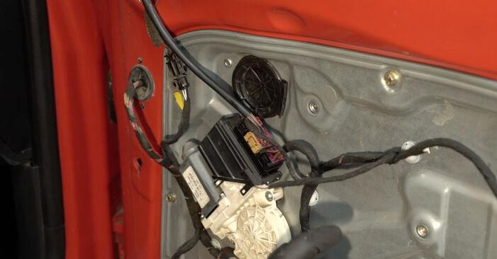 SEAT IBIZA 2009 Κλειδαριές εξωτερικά: εγχειρίδιο αντικατάστασης βήμα προς βήμα
