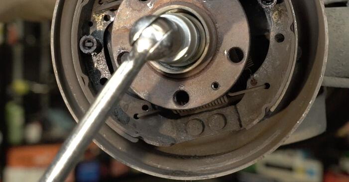 Tausch Tutorial Radlager am SEAT Ibiza III Schrägheck (6L) 2006 wechselt - Tipps und Tricks