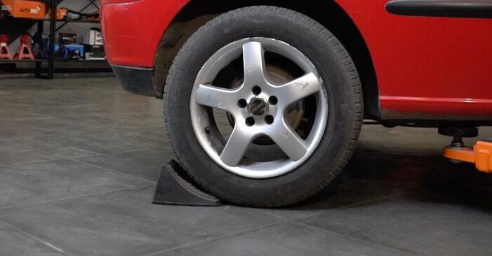 Wie Stoßdämpfer Seat Ibiza 6L1 1.9 TDI 2002 tauschen - Kostenlose PDF- und Videoanleitungen