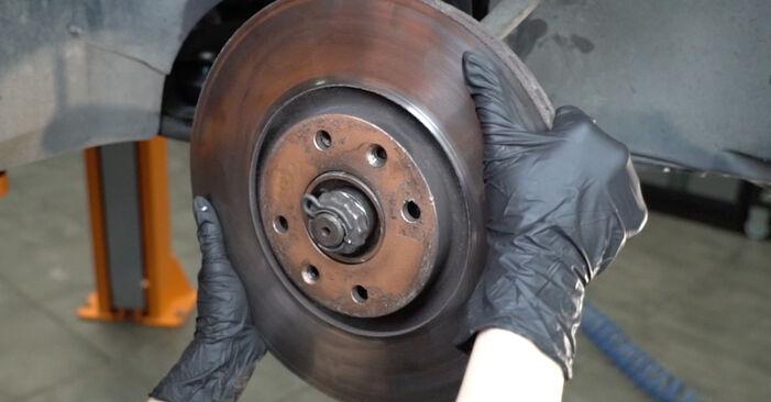 Bremsscheiben Peugeot 307 SW 2.0 HDI 110 2004 wechseln: Kostenlose Reparaturhandbücher