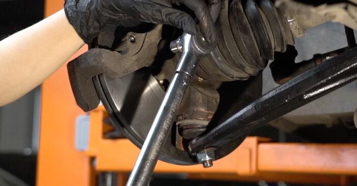 Bremsscheiben Ihres Peugeot 307 SW 1.4 16V 2002 selbst Wechsel - Gratis Tutorial