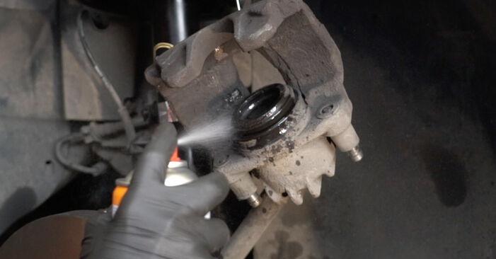 PEUGEOT 307 1.6 HDI 110 Bremsscheiben ausbauen: Anweisungen und Video-Tutorials online