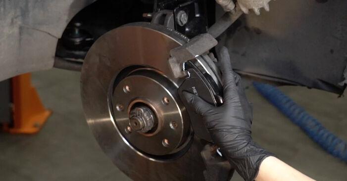307 SW (3H) 2.0 HDi 135 2005 1.6 16V Bremsscheiben - Handbuch zum Wechsel und der Reparatur eigenständig