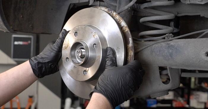 307 SW (3H) 2.0 HDi 135 2005 Wheel Bearing DIY replacement workshop manual