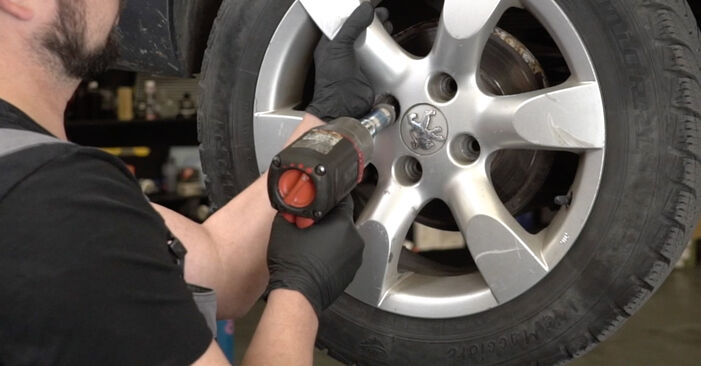 Changing Wheel Bearing on PEUGEOT 307 SW (3H) 2.0 16V 2005 by yourself