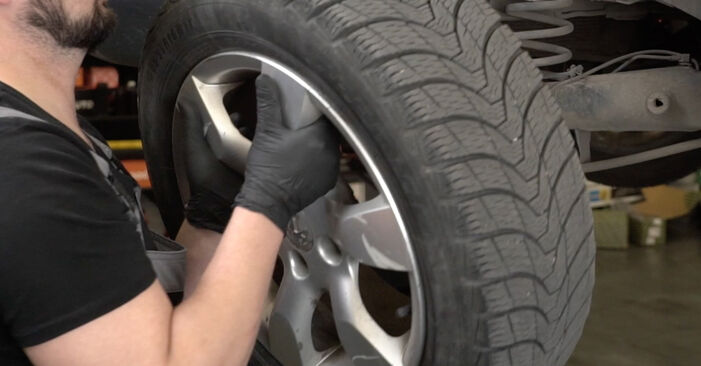 How to remove PEUGEOT 307 2.0 HDi 135 2006 Wheel Bearing - online easy-to-follow instructions
