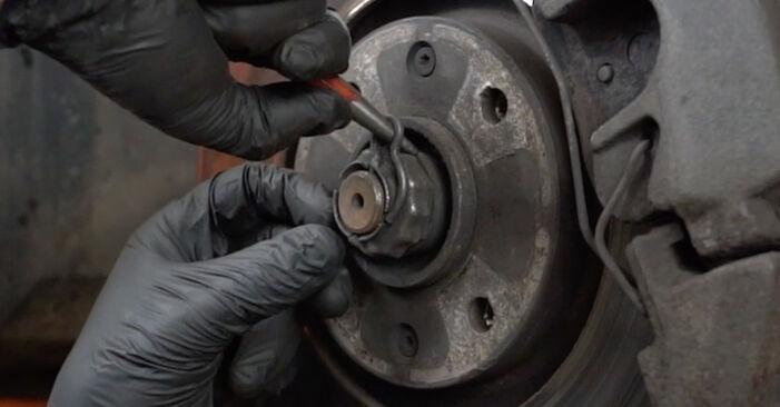 Wie schwer ist es, selbst zu reparieren: Traggelenk Peugeot 307 SW 1.6 HDI 90 2008 Tausch - Downloaden Sie sich illustrierte Anleitungen
