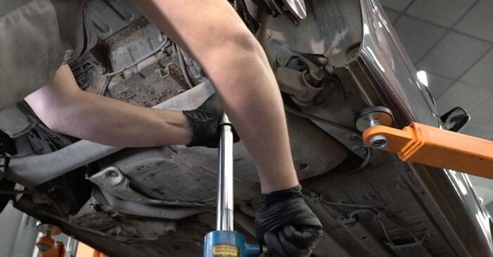Bytte 307 SW (3H) 2.0 HDi 135 2005 Fjærer – gjør det selv med vår veiledning