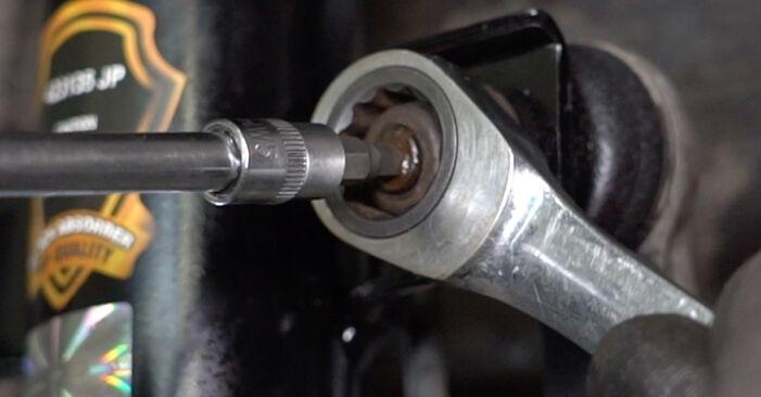 Πόσο διαρκεί η αντικατάσταση: Βάση Αμορτισέρ στο Alfa Romeo 147 937 2008 - ενημερωτικό εγχειρίδιο PDF