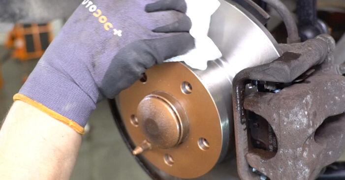Πώς να αντικαταστήσετε ALFA ROMEO 147 (937) 1.9 JTDM 8V (937.AXD1A, 937.AXU1A, 937.BXU1A) 2001 Βάση Αμορτισέρ - εγχειρίδια βήμα προς βήμα και οδηγοί βίντεο