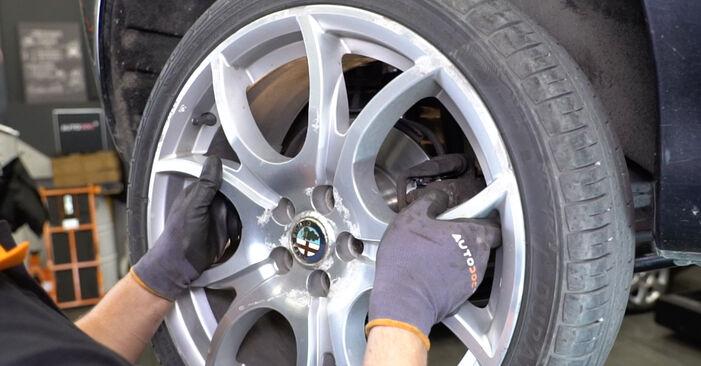Alfa Romeo 147 937 1.9 JTD 2002 Βάση Αμορτισέρ αντικατάσταση: δωρεάν εγχειρίδια συνεργείου