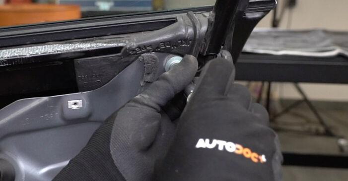 Schritt-für-Schritt-Anleitung zum selbstständigen Wechsel von Audi A4 B7 Limousine 2007 2.0 Fensterheber