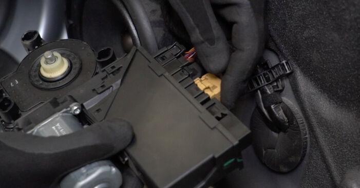 A4 Limousine (8EC, B7) 2.0 2005 1.9 TDI Fensterheber - Handbuch zum Wechsel und der Reparatur eigenständig