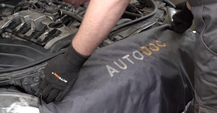 Kaip pakeisti AUDI A4 Sedanas (8EC, B7) 2.0 TDI 16V 2005 V formos rumbuotas diržas - išsamios instrukcijos ir vaizdo pamokos