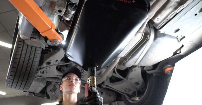 Trinn-for-trinn anbefalinger for hvordan du kan bytte Audi A4 B7 Sedan 2007 2.0 Drivstoffilter selv