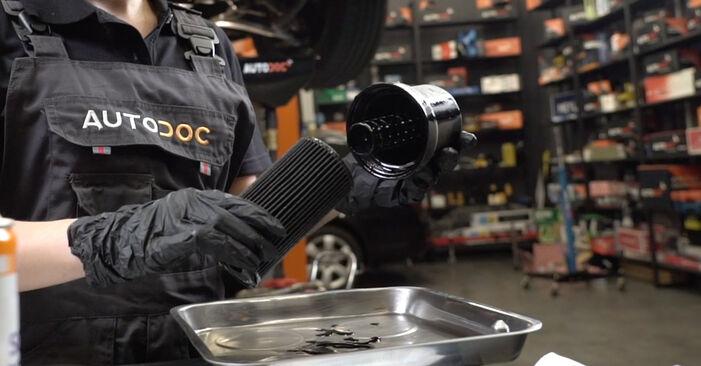 Schritt-für-Schritt-Anleitung zum selbstständigen Wechsel von Audi A4 B7 Limousine 2007 2.0 Ölfilter