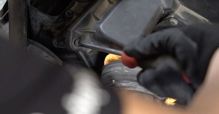 Zweckdienliche Tipps zum Austausch von Luftfilter beim AUDI A4 Limousine (8EC, B7) 2.0 TDI 2008