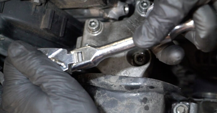 Peugeot 307 SW 1.6 16V 2004 Paskirstymo diržas / komplektas keitimas: nemokamos remonto instrukcijos