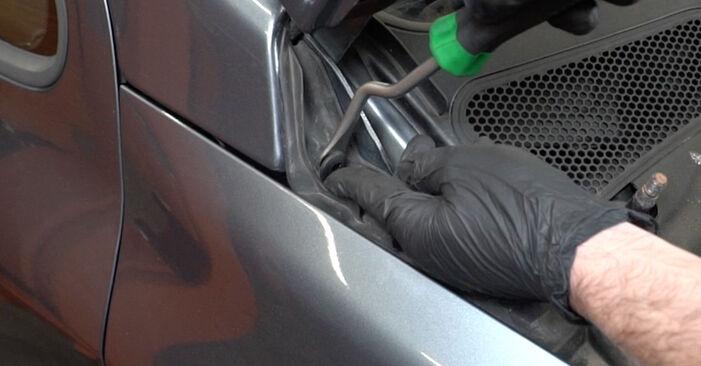 Ar sudėtinga pasidaryti pačiam: Peugeot 307 SW 1.6 HDI 90 2008 Paskirstymo diržas / komplektas keitimas - atsisiųskite iliustruotą instrukciją