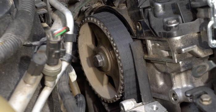 Kiek užtrunka keitimas: Peugeot 307 SW 2002 Paskirstymo diržas / komplektas - informatyvi PDF instrukcija