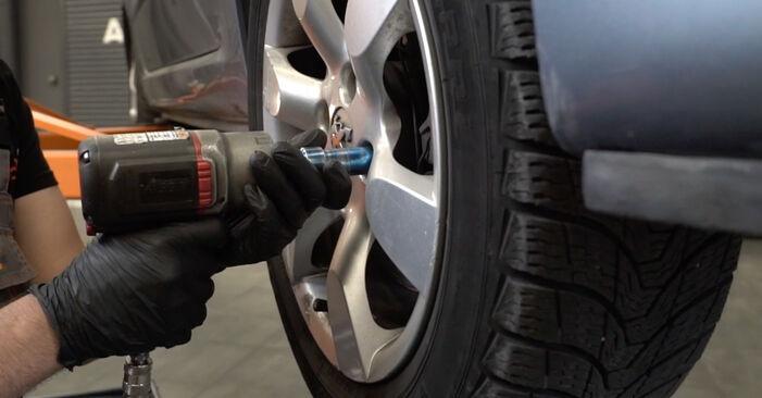 Wie Stoßdämpfer Peugeot 307 SW 1.6 HDI 110 2002 tauschen - Kostenlose PDF- und Videoanleitungen
