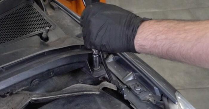 Austauschen Anleitung Stoßdämpfer am Peugeot 307 SW 2004 1.6 HDI 110 selbst