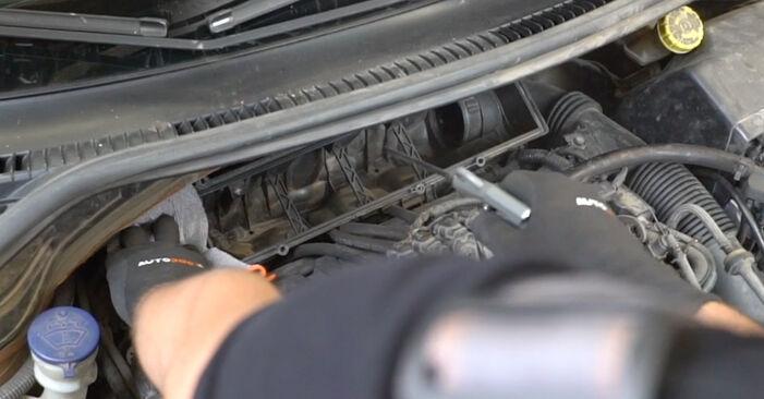 Vanskelighetsgrad: Bytte av Luftfilter på PEUGEOT 207 (WA_, WC_) 1.6 16V RC 2012 – last ned illustrert veiledning