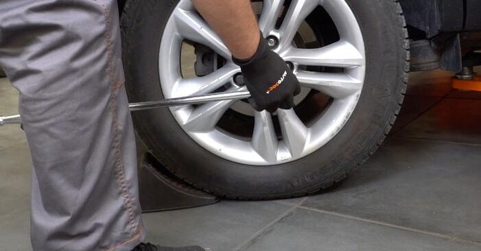 Comment changer Amortisseurs sur Nissan Qashqai J10 2006 - Manuels PDF et vidéo gratuits