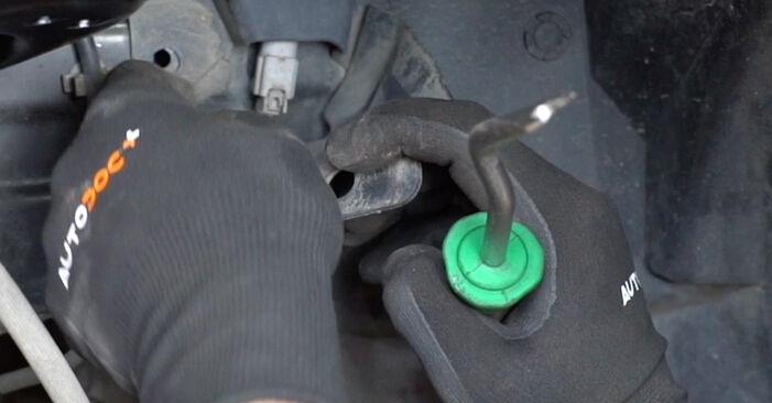 Bytte Nissan Qashqai j10 2.0 dCi Allrad 2008 Hjullager: gratis verkstedsveiledning