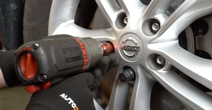 Bytte Hjullager på Nissan Qashqai j10 2008 1.5 dCi alene