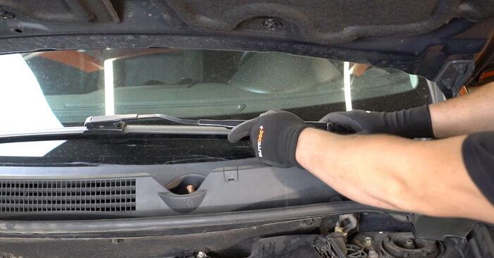 Austauschen Anleitung Federn am Nissan Qashqai j10 2008 1.5 dCi selbst