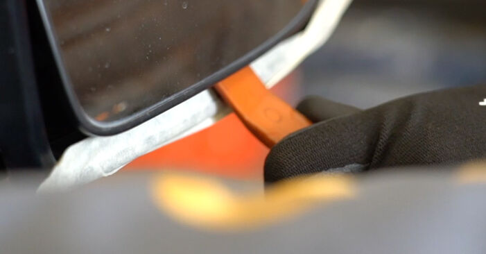 Spiegelkappen Nissan Qashqai j10 1.6 2008 wechseln: Kostenlose Reparaturhandbücher