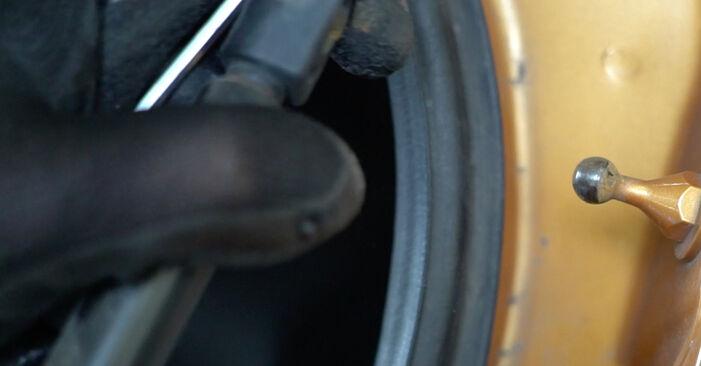 Jak odstranit PEUGEOT 207 1.6 16V VTi 2010 Vzpery Kufra - online jednoduché instrukce