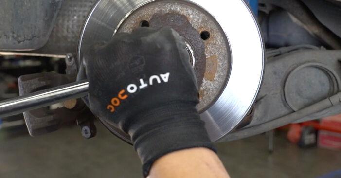 Wie man Radlager beim Peugeot 207 WA 2006 wechselt - Gratis PDF- und Video-Tutorials
